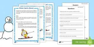 reading comprehension worksheets primary reading page 7