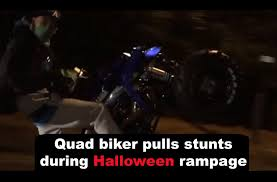 biker halloween rampage police forced to use stingers to stop