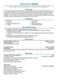 Radio Personality Resume Station Personality Resume