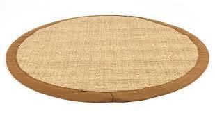 Brown Round Rugs by Sisal Rug Round Brown