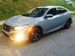 custom honda hatchback just bought a civic hatch sport 2016 honda civic forum 10th