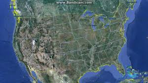 Mexico Map States How Big Is The United States Canada U0026 Mexico North America Size