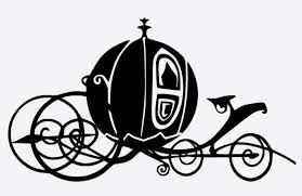 Cinderella Carriage Pumpkin Carriage Clipart Black And White