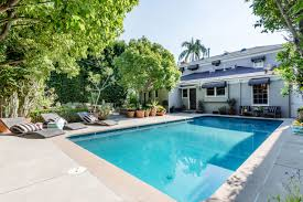 magical traditional oasis with pool in los feliz 3319 lowry the