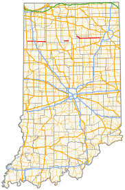 Indiana Illinois Map by Indiana State Road 114 Wikipedia