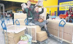 ikea fans ikea fans no longer face trek abroad as belfast store opens