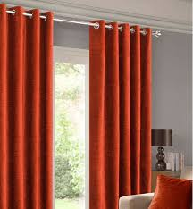 Terracotta Blackout Curtains Balmoral Terracotta Ready Made Eyelet Curtains Harry Corry Limited