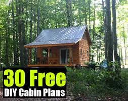 Cabin Designs Free Free Hunting Cabin Plans Homepeek