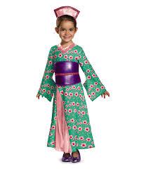 Girls Halloween Costumes Japanese Kimono Princess Geisha Girls Costume Kids