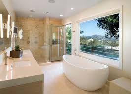 Bathroom Designs 2012 Modern Master Bathroom Design Walnut Finish Vanity Cabinet In