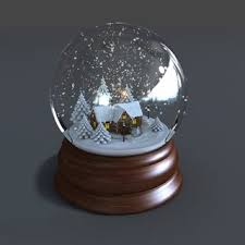 single word requests is there a name for a 3d snow globe