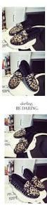 Comfortable Moccasins Size 35 39 N1642 Women Winter Leopard Print Moccasins Flat Villus