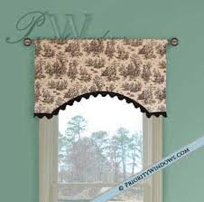 simple parisian valance 35 to 48