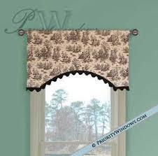 Custom Drapery Fabric Simple Parisian Valance 35 To 48