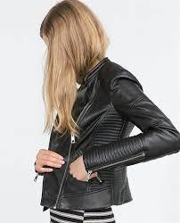 skinnjacka dam specs för zara faux leather biker jacket 5070 005 dam jacka