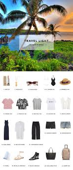 Hawaii How To Fold Dress Shirt For Travel images Pack for 10 days in maui hej doll encapsulated s s pinterest jpg