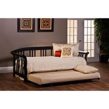 Black Daybed With Trundle Dorchester Black Daybed With Suspension Deck And Trundle