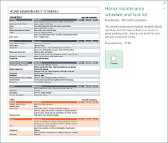 Home Maintenance Spreadsheet by Balunywa Bytes An Excel Template For Every Occasion