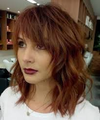 swag hair cuts medium lenght 20 modern ways to style a long bob with bangs messy hairstyles
