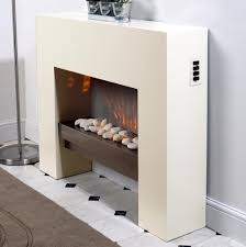free standing fire surround white electric mdf fireplace flicker