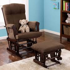 Glider And Ottoman Sale Baby Relax Glider Rocker And Ottoman Espresso With Chocolate