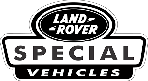 land rover logo 3 x old black white land rover special vehicle vinyl stickers