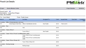 Construction Punch List Template Excel Snag List Archives Cmcs