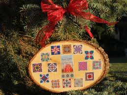 nelson county barn quilt ornament to hang on capital tree local