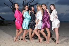 bridesmaid satin robes bridesmaid robes monogram satin robe bridal robes satin
