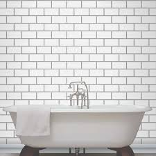 bathroom wallpaper ideas bathroom tile effect bathroom wallpaper modern rooms colorful