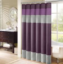impressive purple bathroom curtains magnificent bathroom design