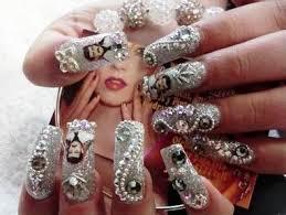 imagenes de uñas acrilicas con pedreria 1440 piedras cristales 16ss decoracion uñas acrilicas 199 00 en