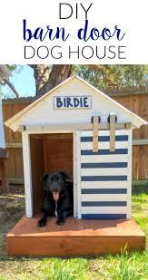 diy dog house barn door dog house