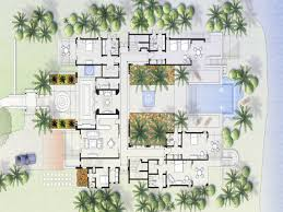 Narrow Home Floor Plans Baby Nursery Mexican House Plans Hacienda With Courtyard Floor