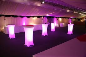 high top table rentals high top table w cover lighting denver party rentals