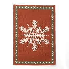 e1092 snowflake christmas rug online dolls house superstore