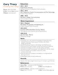 Oil Field Resume Resume U2013 Cory Tracy