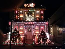 best xmas decorated houses house decor