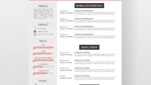 unique resume template resume exle free creative templates for mac pages modern design