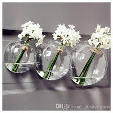 Vase Holders Glass Air Plant Holders Wall Glass Vase Wall Bubble Terrarium