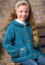 knitting pattern baby sweater chunky yarn knitting pattern for cadet hooded cardi hooded cardigan with lots