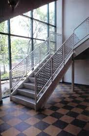 Metal Banisters Perforated Metal Railing Systems Ametco Manufacturing