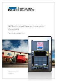 Garbage Compactor Bags North Sea Compactors Ltd Offshore Waste Compactors Compactor Bags