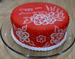 anniversary cake 10th anniversary cake