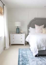 Transitional Bedroom Furniture by Board And Batten Accent Wall Transitional Bedroom Benjamin