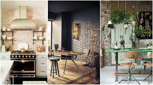 kitchen wallpaper hi def cool brick accent walls exposed brick