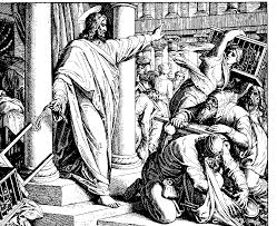 100 ideas jesus clears the temple coloring page on www