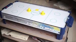 harvil air hockey table harvil tabletop air hockey table 40 inches dazadi com youtube