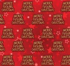 gift wrap merry fucking christmas