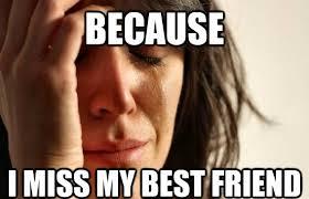 My Best Friend Meme - miss my best friend best friend meme